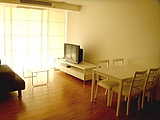 For rent sale The Alcove 48sqm 1BR full furnished including UBC Cable TV parking  Area | The Alcove 49