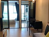MRT Bang Kraso Condo for Rent : For rent KNIGHTSBRIDGE TIWANON 1 bedroom 12A Floor North Terrace