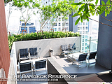 เช่าคอนโด BTS ศาลาแดง : CONDO FOR RENT ** Life@Sathorn 10 ** Fully furnished 2-bedroom unit @ 33,000 THB/Month